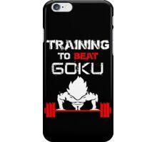Training to Beat GOKU! iPhone Case/Skin