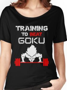 Training to Beat GOKU! Women's Relaxed Fit T-Shirt