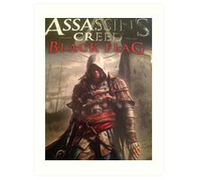 Assassins Creed Black Flag limited cover Art Print