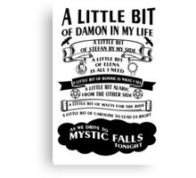 TVD Song Canvas Print