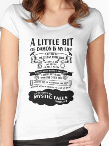 TVD Song Women's Fitted Scoop T-Shirt