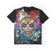 Mexican Sugar Skull, Day of the Dead, Dias de los muertos Graphic T-Shirt