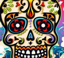 Mexican Sugar Skull, Day of the Dead, Dias de los muertos Sticker