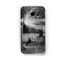 Nikola Tesla - Bolts Of Electricity Samsung Galaxy Case/Skin