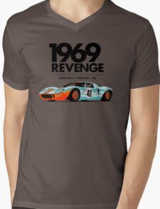 1969 Rocket V8 Mens V-Neck T-Shirt