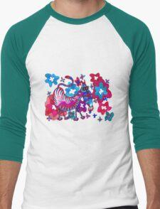 Psychedelicat Men's Baseball ¾ T-Shirt