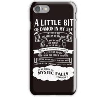 TVD Song (b/w) iPhone Case/Skin