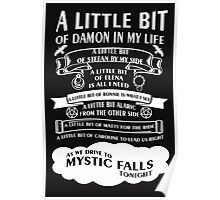 TVD Song (b/w) Poster