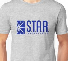 Star Labs, Heather Grey – Barry Allen Unisex T-Shirt