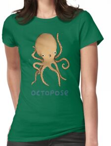 Octopose Womens Fitted T-Shirt