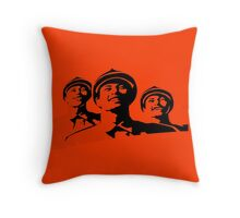 Three happy Soldiers Throw Pillow