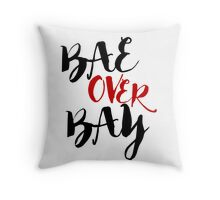 BAE > BAY Throw Pillow