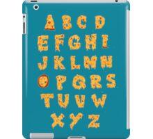 ABC O Pizza iPad Case/Skin