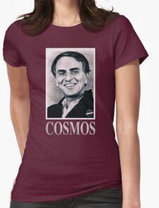 Cosmos Carl Sagan Womens Fitted T-Shirt