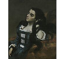 Gustave Courbet - Spanish Woman 1855 ,  Portrait , Fashion  Photographic Print
