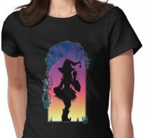 Mage of Shadows Womens Fitted T-Shirt