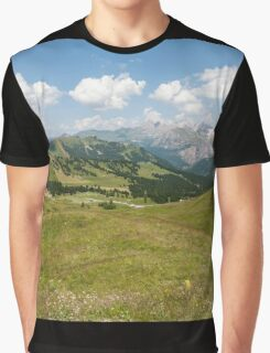 mountain landscape Graphic T-Shirt