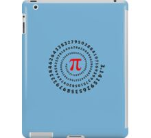 Pi, π, spiral, Science, Mathematics, Math, Irrational Number, Sequence iPad Case/Skin