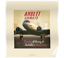 AnsettAirlines_DC3 Poster