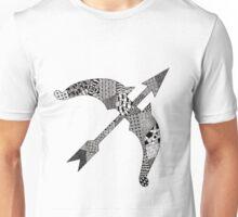 Zentangle Bow Unisex T-Shirt