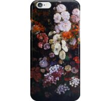 Gustave Courbet - Trellis 1862 , Flowers , Flowers , Bouquet of Flowers iPhone Case/Skin