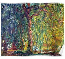 1918-Claude Monet-Weeping Willow-99 x 120 Poster