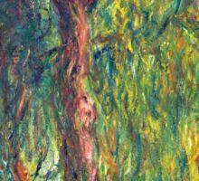 1918-Claude Monet-Weeping Willow-99 x 120 Sticker