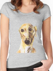 GREYHOUND LOVE Women's Fitted Scoop T-Shirt
