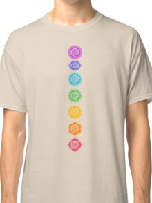7 Chakras - Cosmic Energy Centers  Classic T-Shirt