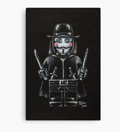 L for Lego Canvas Print