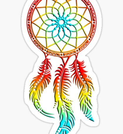 Dream Catcher, dreamcatcher, native americans, american indians, protection Sticker