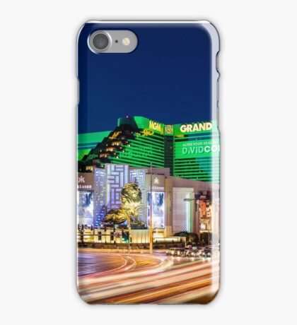 Las Vegas Lights - MGM Grand iPhone Case/Skin