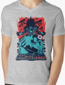 One Man, One Punch, One Hero Mens V-Neck T-Shirt