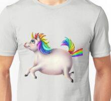 Fat Unicorn Farts Unisex T-Shirt