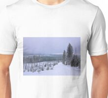 Pure nature in winter time Unisex T-Shirt