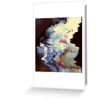 Water Tremors Greeting Card