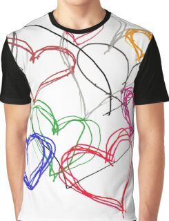 Painting Love Graphic T-Shirt