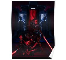 Sith dueling Poster