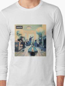 Oasis - Definitely Maybe Long Sleeve T-Shirt