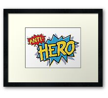 Anti-hero Framed Print
