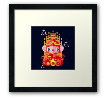 Fire Monkey Year Framed Print