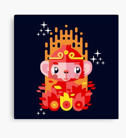 Fire Monkey Year Canvas Print