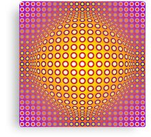 Vasarely style Canvas Print