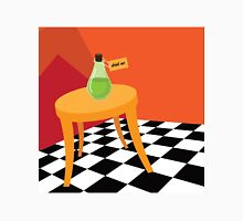 Drink Me potion bottle from Alice in Wonderland. Unisex T-Shirt