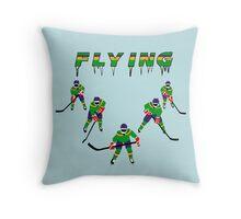 Mighty Ducks Flying ''V'' Throw Pillow