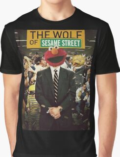 The Wolf Of Wall street-Parody Graphic T-Shirt
