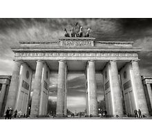 Brandenburg Gate, Berlin Brandenburger Tor Photographic Print