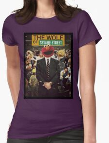 The Wolf Of Wall street-Parody Womens Fitted T-Shirt