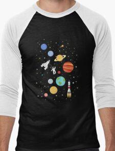 In space Men's Baseball ¾ T-Shirt