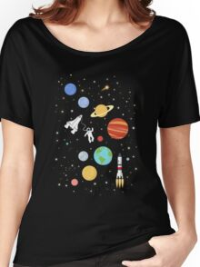 In space Women's Relaxed Fit T-Shirt
